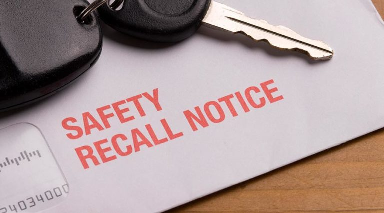 How to Deal with an Automotive Recall